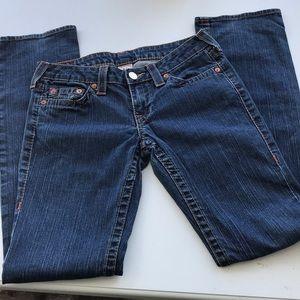 True Religion sz29 boot cut jeans..